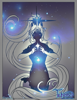 Tethered Star Goddess by Iriadescent