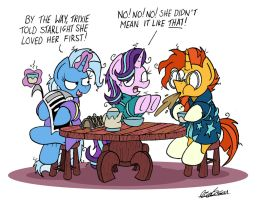 Breakfast Buddies by bobthedalek