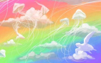 Little Fluffy Clouds by leiana