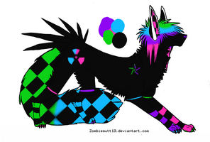 Scene Dog Adoptable -CLOSED- by CollectionOfWhiskers