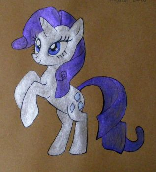 MLP Rarity 2016 2 by andpie