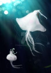 Dance with Jellyfishes by TomGonets