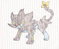 Luxray by Darkgatomon12