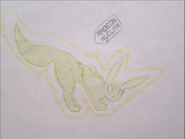 pokemon eeveelutions radeon by puticron