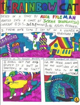 The Rainbow Cat [1922] {Rose Fyleman} Page 1 / 15 by JCSStudio