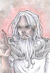 Gandalf The White by Odamako