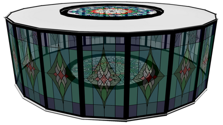 Stain Glass stage 3 by mbarnesMMD