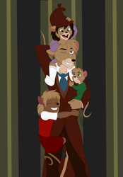 Commission: Daddy's Home! by ALS123