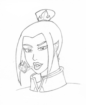 Azula Hot Kiss by Ryoku21