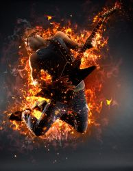 AfterBurn 2 Photoshop Action by ArtoriusGothicus