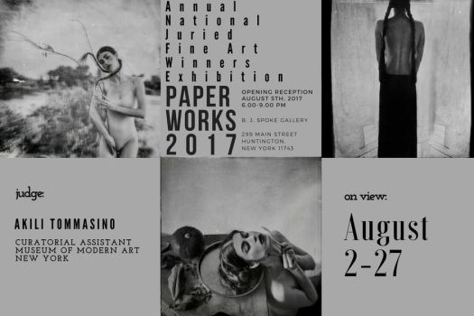 exhibitions : PAPERWORKS 2017 Huntington, New York by RapidHeartMovement