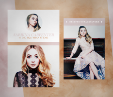 Photopack 15435 - Sabrina Carpenter by southsidepngs