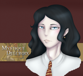 Mystique Delcroix of Gryffindor by AkumaCursed
