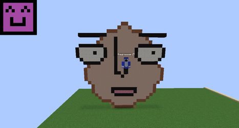 Saitama Face in an egg requested by thegreaser15 by Endermen1000
