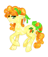 Crystal pony - Carrot Top by Twigileia