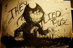 Bendy And the Ink Machine (closer) by skyrore1999
