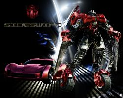 Movie  G1 colored Sideswipe by DCSPARTAN117