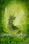 fairydragon birthdaycard by Sabina-Elisabeth