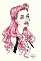 Katy Perry by DibuMadHatter