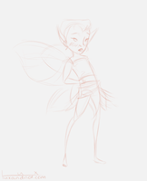 Daily Sketch: Fairy by luxandnox