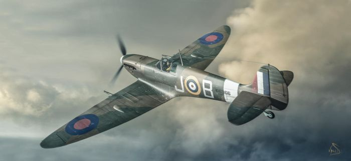 Spitfire MkV Re-Textured by rOEN911