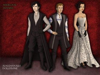 Sherlock and Co. by CrazyKatProductions