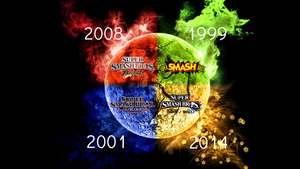 Super Smash Bros. Evolution Wallpaper 18 by TheWolfBunny