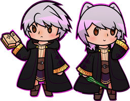 Robins by pkpudding