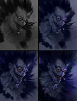 Ryuk-Process by AaronGriffinArt