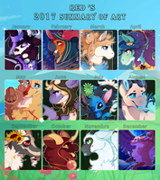 Summary art 2017 - Personnal by PlagueMage