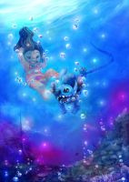 Under the sea. by NiG3L