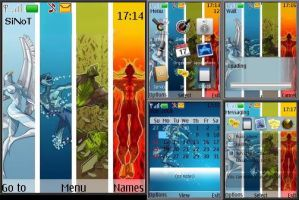 Four Elements Theme for Nokia by SiNoT