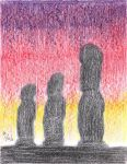 Silhouettes at Sunset 3 by mayorlight