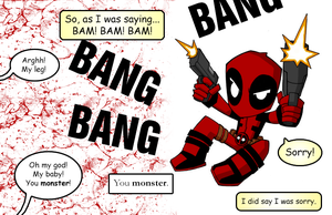 Deadpool Coloring by DavidFCG