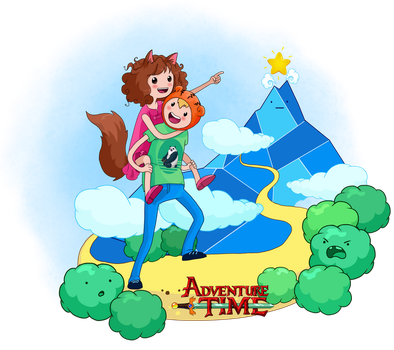 Adventure time by Prywinko