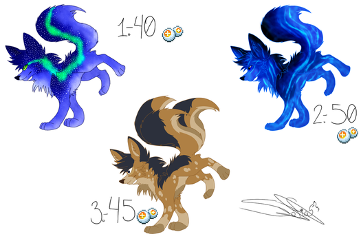 Points Adopts  - (OPEN) by Drawings-SofiaWolf