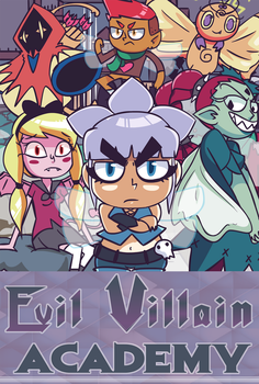 Evil Villain Academy Comic Series! by FrostDrive
