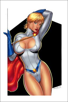 Power Girl by billmeiggs