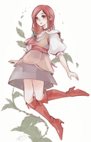 dragon nest : Rose by Panther-fam