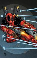 Deadpool by RossHughes