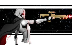 Captain Phasma by WeaponXIX