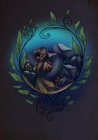 Mermaid Circle by MaxFeathers