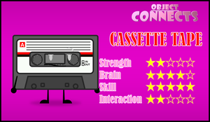 Object Connects: Cassette Tape by PlanetBucket22