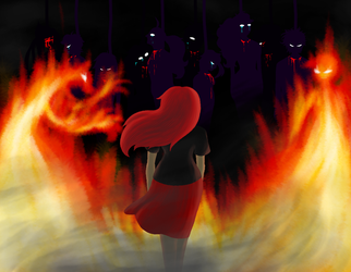 walk through the fire by AntipathicZora