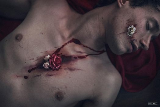 Flowers of  Wound by VioletteSucree