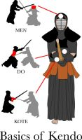 The Basics of Kendo by waterostrich