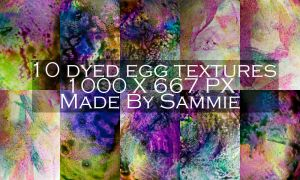 Dyed Egg Textures by ICouldntThinkOfAName