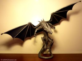 Grey Dragon - Front by Richi89