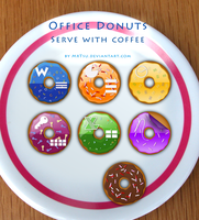 Office 2007 Donuts by MrTsu