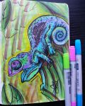 Chameleons by LucentLioness